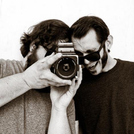 Matt Loewen and Joe Lessard of Rayonism Images