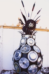 Hubcap Bouquet